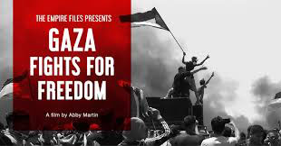 Gaza Fights for Freedom Poster